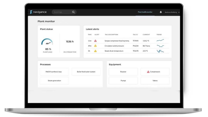 Navigance_Plant Monitor_Screen